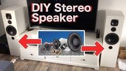 DIY Stereo Speaker | Lautsprecher bauen