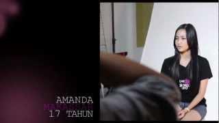 CLEAR Hair Model - Amanda