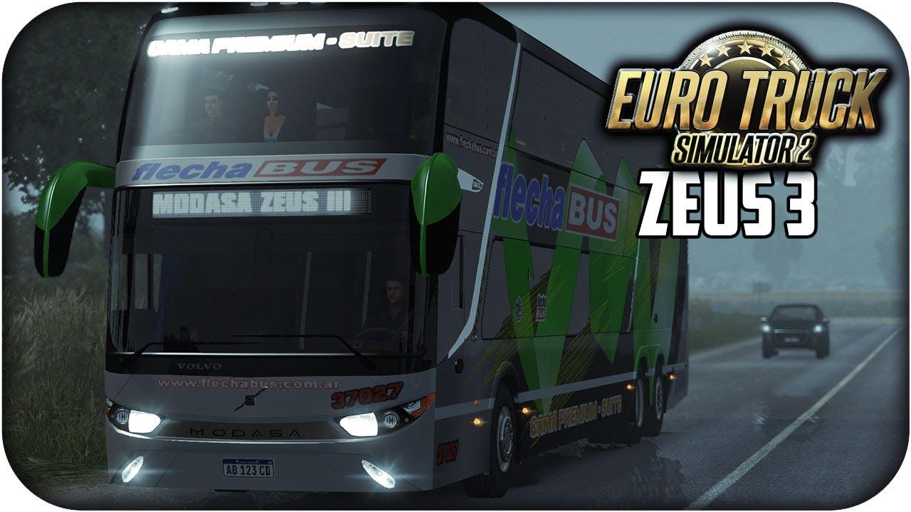 MODASA ZEUS 3   Euro truck simulator 2   1 26 - 1 27