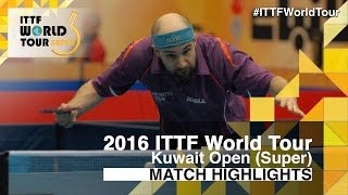 2016 Kuwait Open Highlights: Tristan Flore vs Adam Pattantyus (Pre)(Review all the highlights from the Tristan Flore vs Adam Pattantyus (Pre) from the Kuwait Open 2016 Subscribe here for more official Table Tennis highlights: ..., 2016-03-17T15:21:09.000Z)