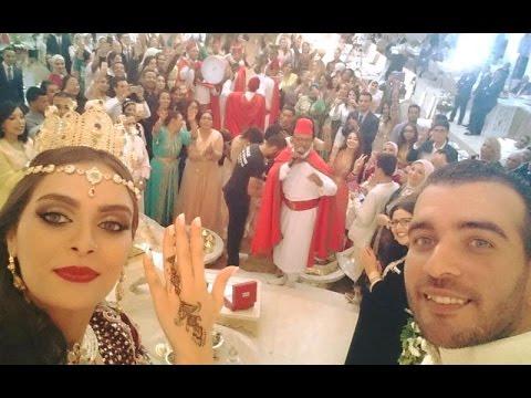 Bruiloft Marokkaanse actrice Safae Hbirkou (bladna.nl)