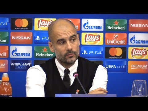 Pep Guardiola Full Pre-Match Press Conference - Napoli v Manchester City - Champions League