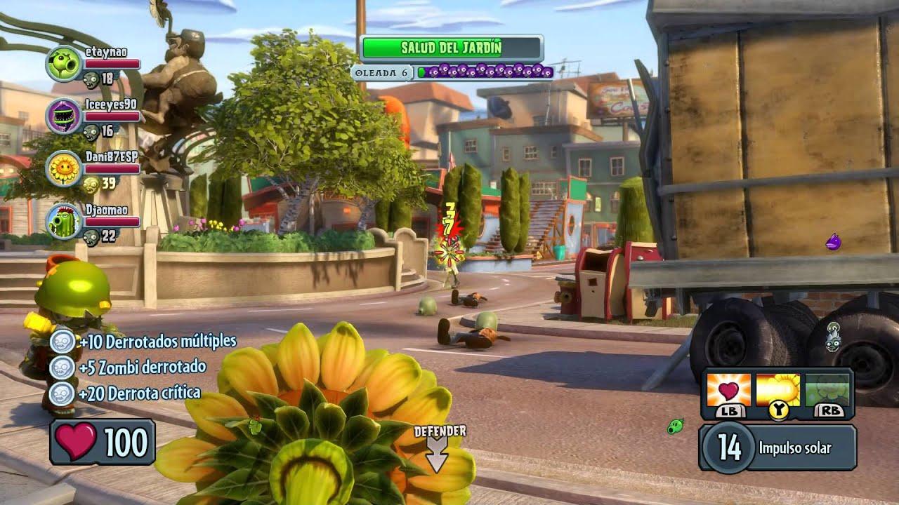Plants Vs Zombies Garden Warfare PC - YouTube