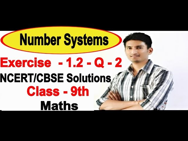 Chapter 1 Exercise 1.2 Question 2 - Number Systems Class 9 Maths - NCERT Solutions