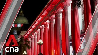 National Gallery's facade to be lit up in red and white to celebrate Singapore's 55th birthday