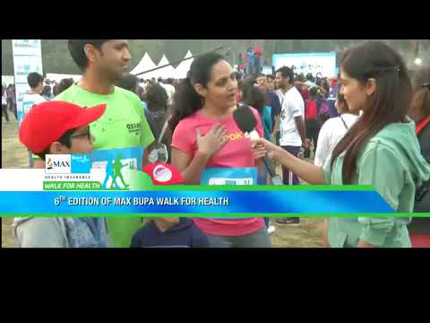 Max Bupa: Walk For Health 2018 Post Mumbai Event Story