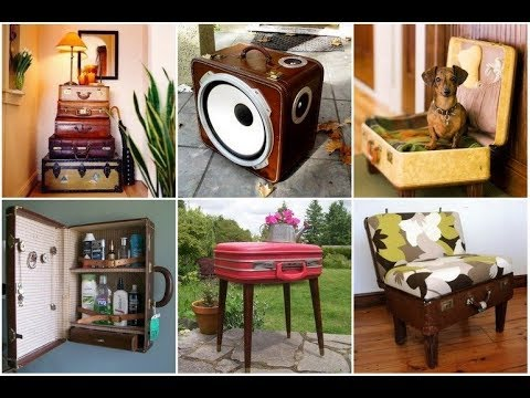 30 Creative Recycled Furniture Projects Ideas