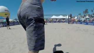 2014 AVP Manhattan Beach Open, McColloch/Olson vs. Rogers/Brunner