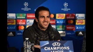 Antonio Conte & Cesc Fabregas Press Conference   Chelsea V Atletico   Champions League
