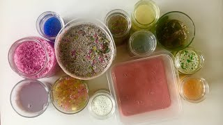 Slime SMOOTHIE I Mixed my OLD Slime - Satisfying Slime Video #18