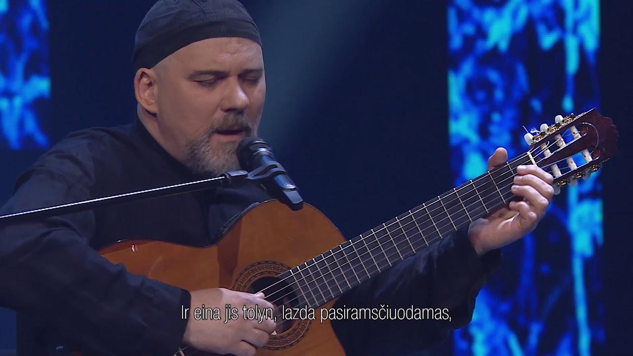 Andrius Kulikauskas ir Aidas Giniotis – Ateina dievas | Gražiausios poetų dainos