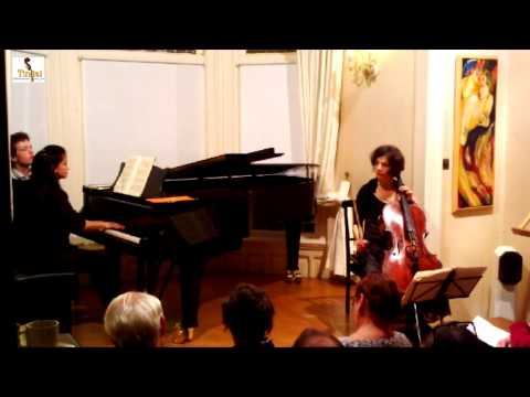 Timora Rosler   Klara Wurtz   Johannes Brahms   Sonate in F groot   opus 99  dl. 1 2 3