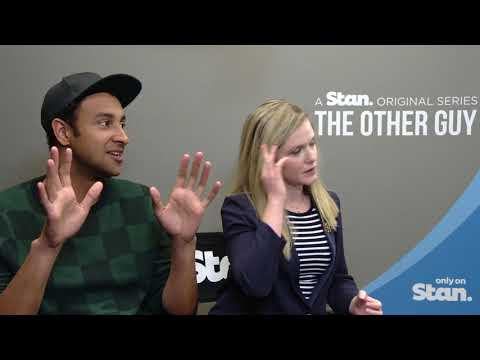 Matt Okine & Harriet Dyer on The Other Guy, relationships & diverse casting