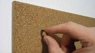 пробковая доска без рамки (12 мм пробка  жёсткая основа)