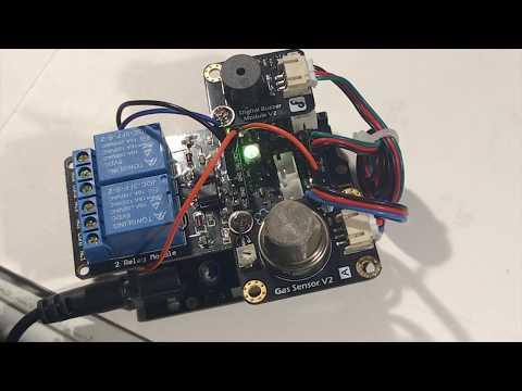 DIY Natural Gas Detector - Triggers Alarm, Fans and WiFi Alerts - Fart Detector