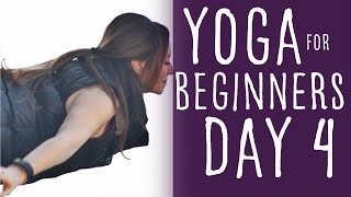 15 Minute Yoga For Beginners 30 Day Challenge Day 4 With Fightmaster Yoga