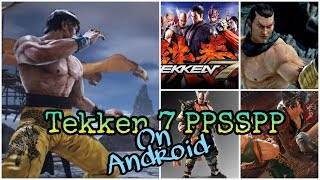 Tekken 7 Global Prime Mod PPSSPP android on POCO F1 | Marshall Law Gameplay