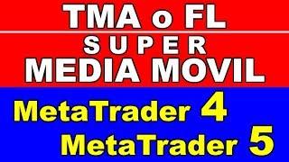 Forex y CFDs - Indicador TMA y Súper Media Móvil para METATRADER 5