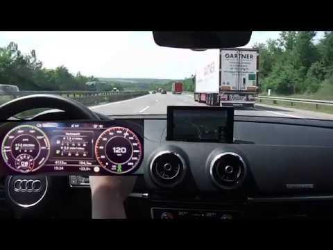Audi A3 e-tron: Rundfahrt (hybrid) - mit Boost-Modus