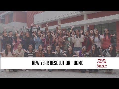 2018 New Year Resolution UGMC I Media Center IMAC
