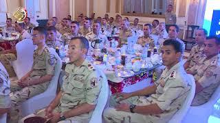 الفريق أول صدقى صبحى يلتقى نسور القوات الجوية ومقاتلى الهيئة الهندسية والمنطقة المركزية
