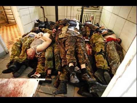 Потерянная группа наемников в Украине