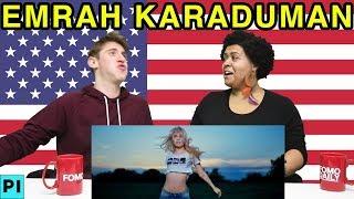 """Americans React To Emrah Karaduman """"Cevapsiz Çinlama"""" ft. Aleyna Tilki Video"""
