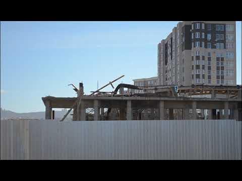 В Анапе обрушилось здание строящегося ЗАГСа