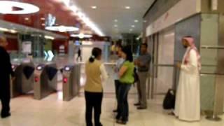 Al Rigga Metro Station in Dubai