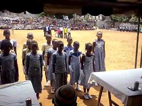 M.B.C.G school Children's day@abidjan cote d'ivoire