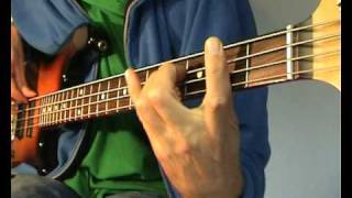 The Detroit Emeralds - Feel The Need In Me - Bass Cover