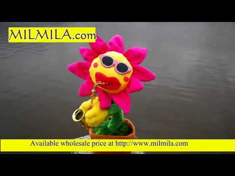 Singing sunflower toy Indian wholesale
