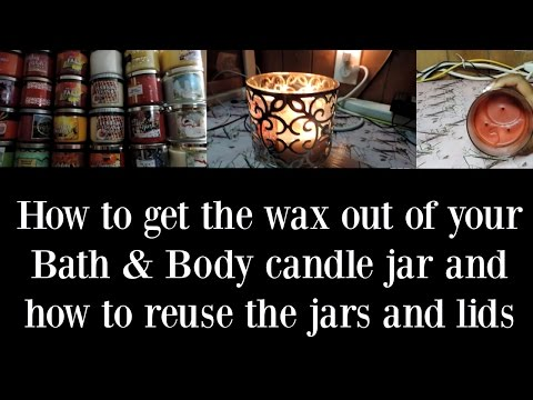 How to get the wax out your Bath & Body Candle and DIYs
