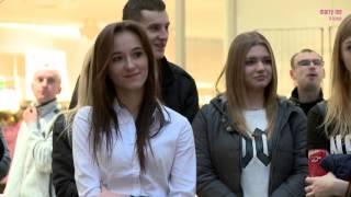 Walentynkowe zaręczyny w Galerii Krakowskiej - Agnieszka i Dariusz
