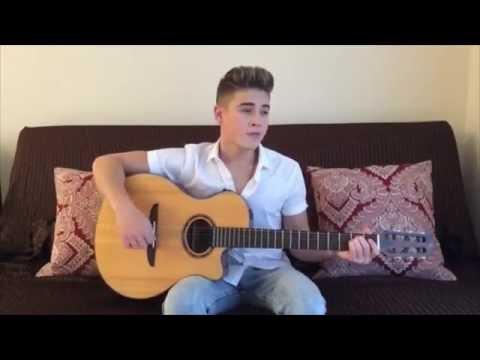 Please Don't Go - Joel Adams (Acoustic Cover by Ricardo Hurtado)