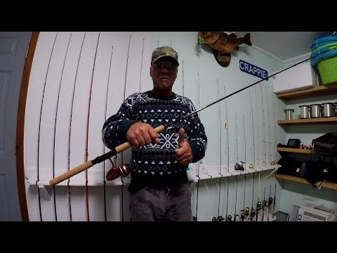 Crappie Fishing With My New Favorite Jig Pole! Plus A New Crappie Rig!