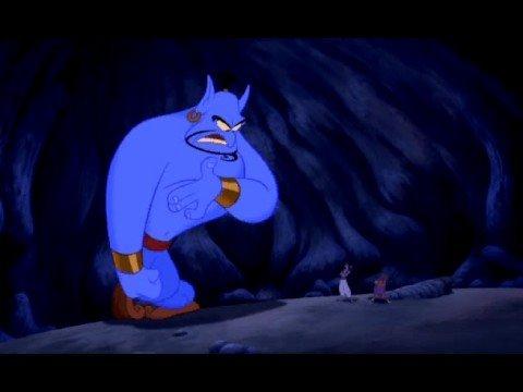 Aladdin Genie Furious Youtube
