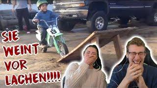 Versuche nicht zu lachen geht komplett schief | Motorrad Version mit Anica