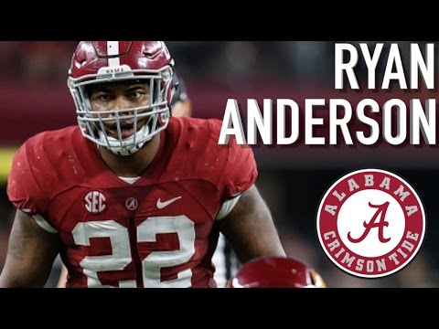 Ryan Anderson || Official Alabama Highlights
