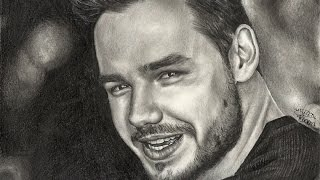 Drawing Liam Payne | Desenhando Liam Payne (Speed Drawing)