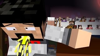 COOKING BATTLE SHOW ! FULL BATTLE 1- Craftronix Minecraft Animation
