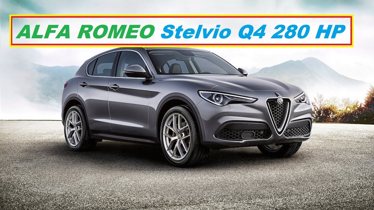 alfa romeo stelvio q4 280 hp 2018 youtube. Black Bedroom Furniture Sets. Home Design Ideas