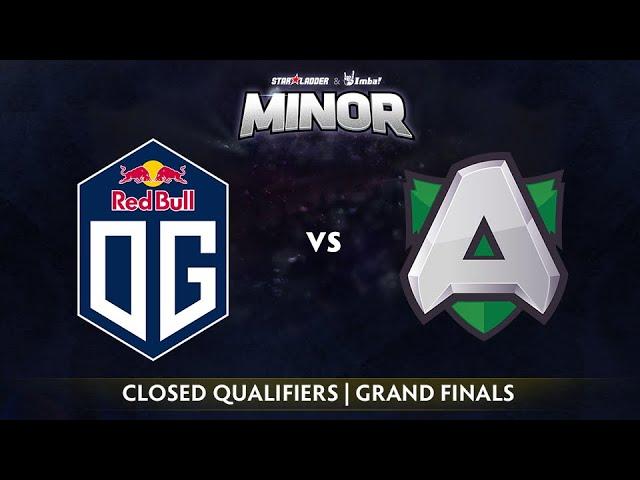 OG vs Alliance Game 1 - StarLadder ImbaTV EU Qualifier: Grand Finals