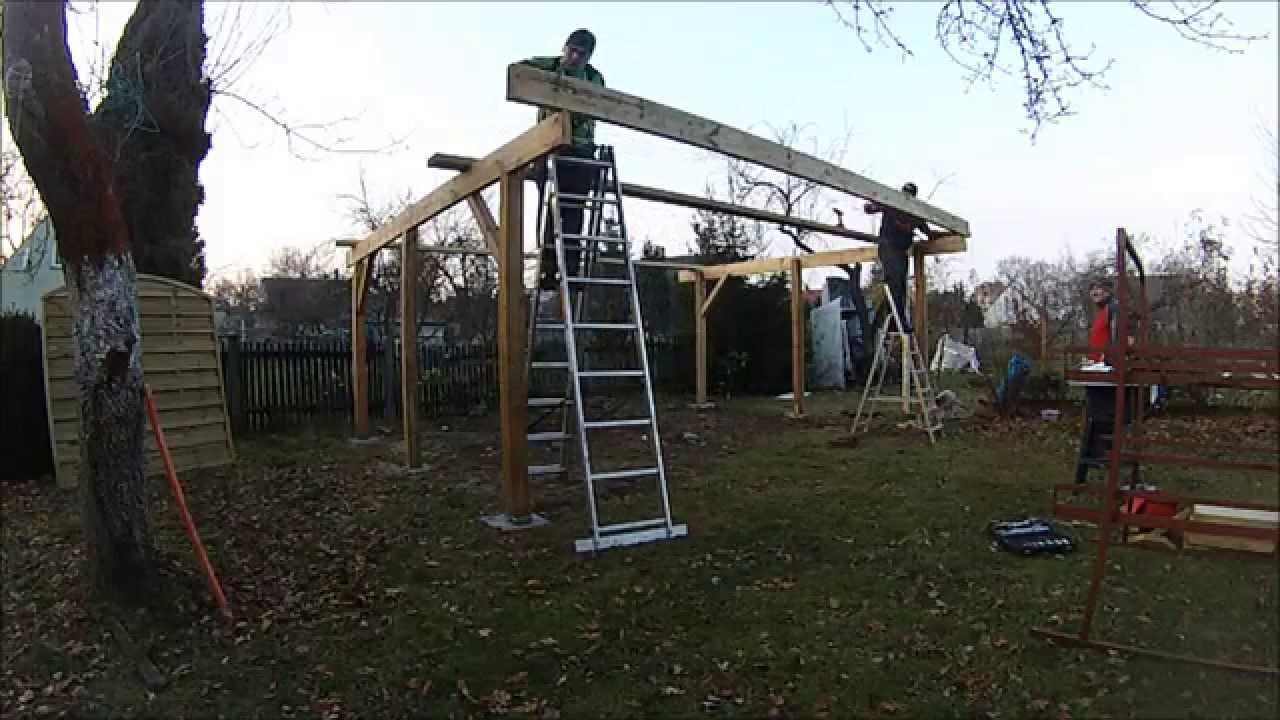 carport for two cars youtube. Black Bedroom Furniture Sets. Home Design Ideas