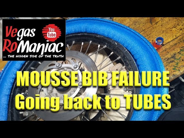 3 REASONS   Switching back to TIRE TUBES from MOUSSE BIB inserts