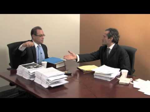 Wayne County Executive Robert Ficano and Charlie LeDuff