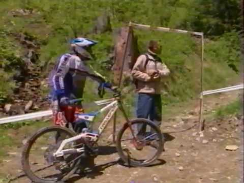 "Emission ""Sports Evenement"" sur la Coupe du Monde de VTT aux Gets (2000)"