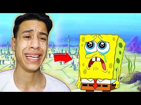 لقد وجدت سبونج بوب في ماين كرافت | I found Real Spongebob !! 🔥😱