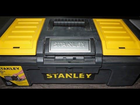 """Обзор Ящик для инструмента Stanley Basic Toolbox 16"""" (1-79-216) из Rozetka"""