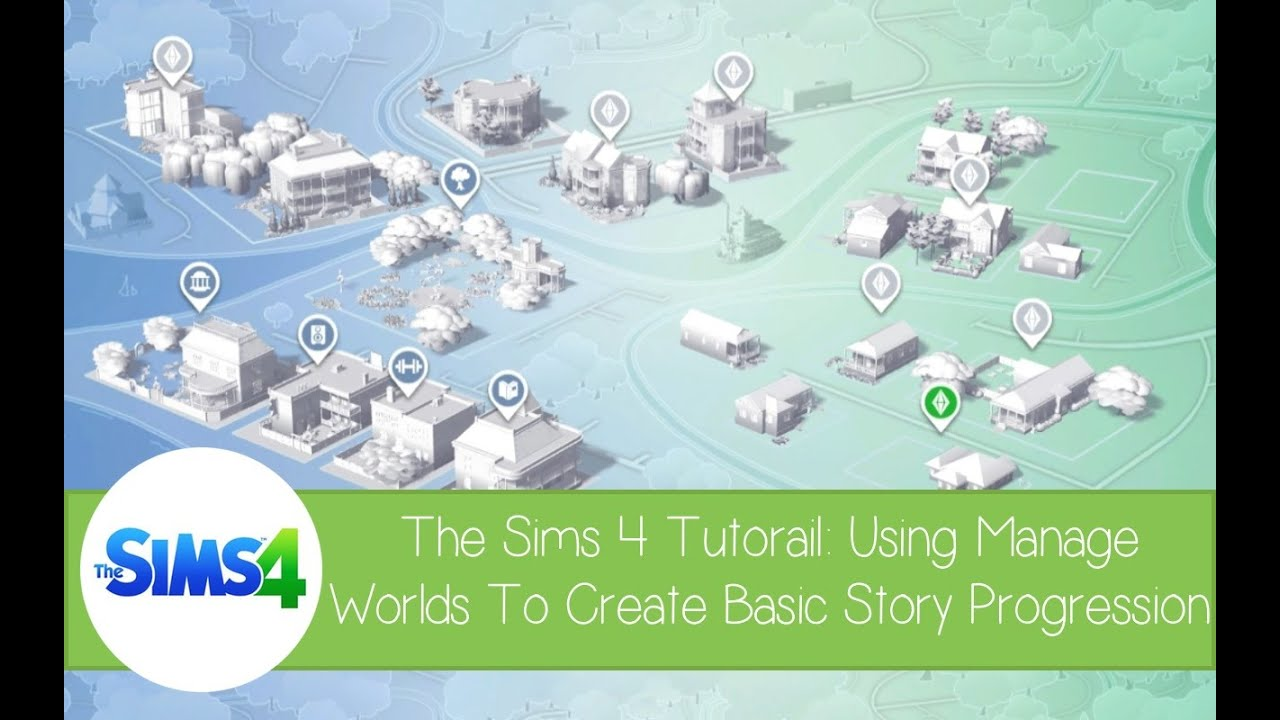 The Sims 4 Tutorial: Using 'Manage Worlds' to create your ...